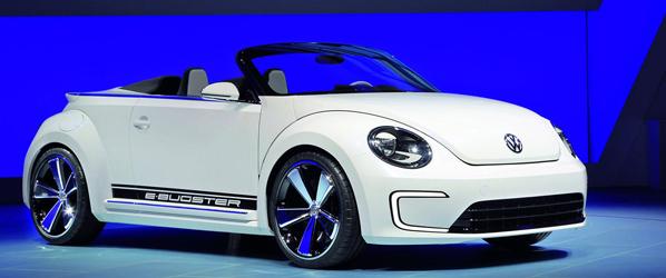 Volkswagen Beetle E-Bugster Speedster Concept