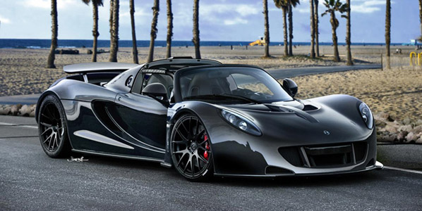 Hennessey Venom GT Spyder, el anti Veyron