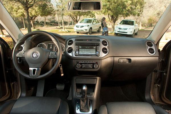 Renault Koleos vs Toyota RAV4 y VW Tiguan