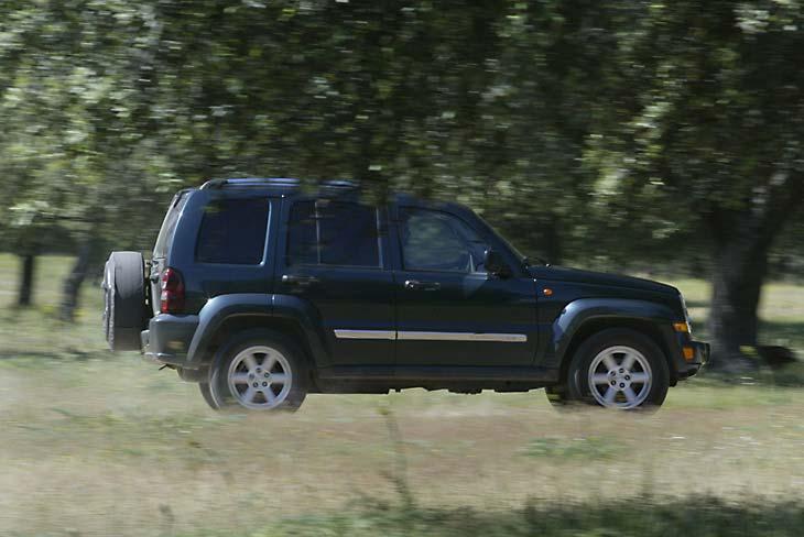 Es un vehículo pesado, por lo que hay que tener cuidado con las inercias.