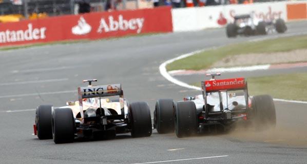 F1: La carrera de Alonso en Silverstone