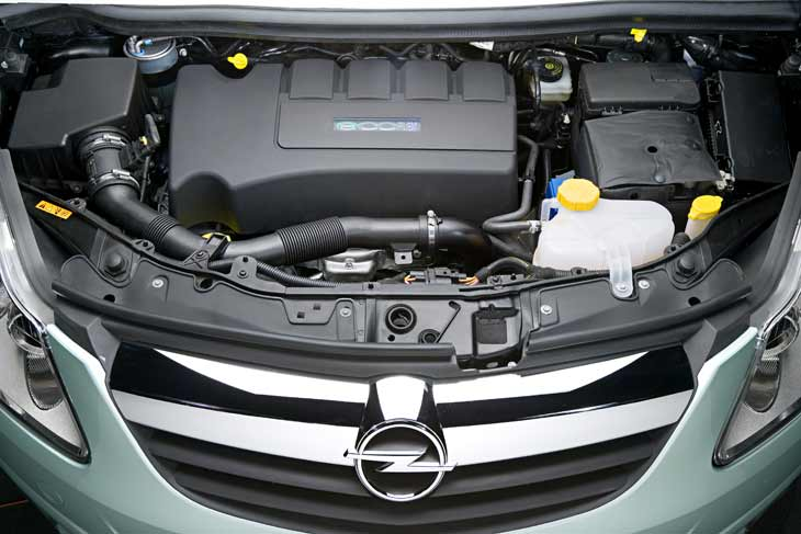 El Concepto Opel Corsa Híbrido está propulsado por la siguiente generación de Sistemas Híbridos de GM y por un motor Diesel.