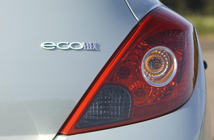 El Concepto Opel Corsa Híbrido es una pieza fundamental de la iniciati-va medio ambiental de Opel eco-FLEX.