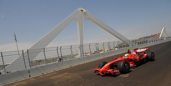 Massa saldrá desde la pole