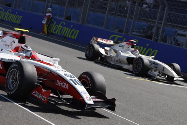 GP2: Hulkenberg no perdona