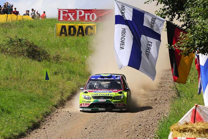 Rally de Alemania 2010.