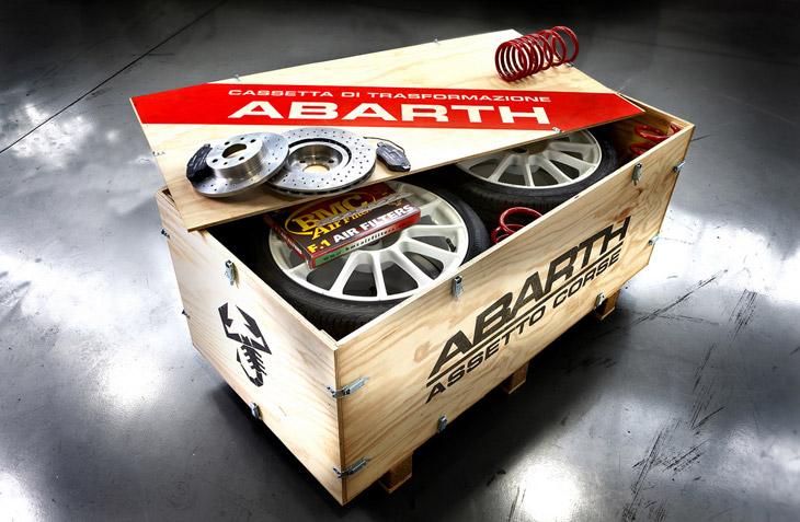 Fiat 500 Abarth SS y Assetto Corse.