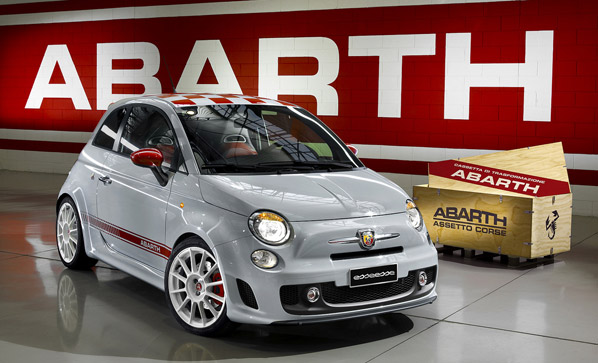fiat 500 abarth ss y assetto corse. Black Bedroom Furniture Sets. Home Design Ideas