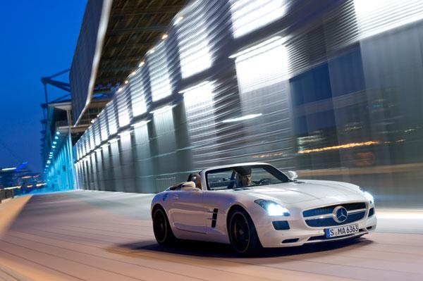 Mercedes SLS AMG Roadster el contacto
