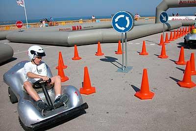La conducción es la parte preferida por los niños.