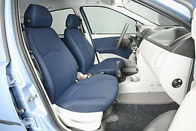 La posición de conducción no es cómoda.