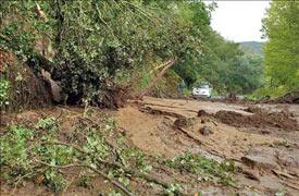 Las lluvias castigan a Galicia