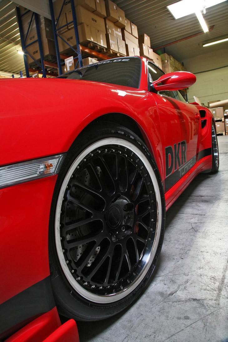 Porsche 911 Biturbo DKR Tuning