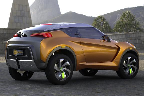 Nissan Extrem Concept, el hermano pequeño del Juke