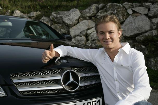 F1: Mercedes confirma a Rosberg