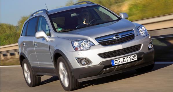 Novedades mecánicas para el Opel Antara
