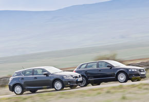 Lexus CT 200h vs Audi A3 Sportback 1.6 TDI