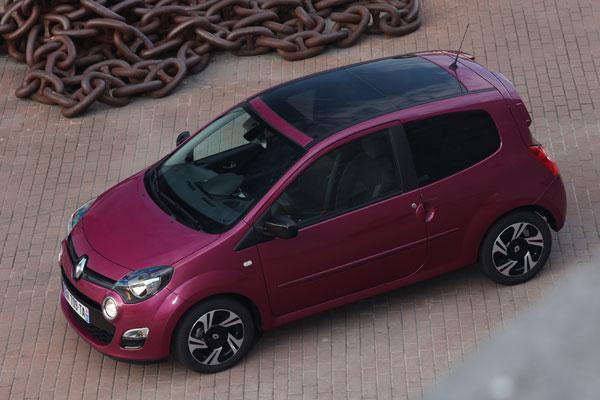 Renault Twingo el contacto