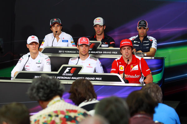 Gran Premio de Malasia de Fórmula 1 (22-25 de marzo de 2012)