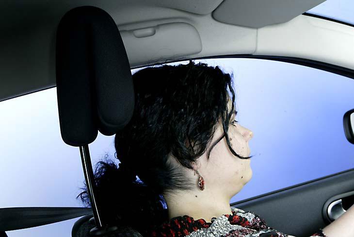 Posturas erróneas al volante