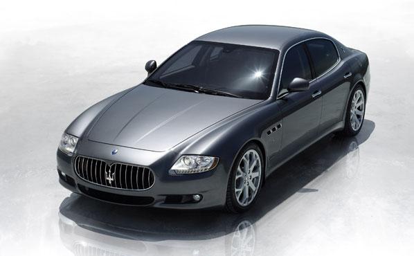 Maserati Quattroporte, obra de arte