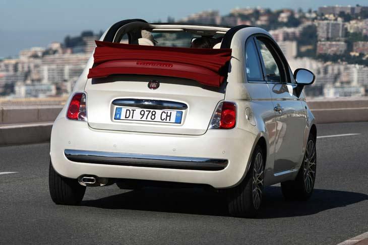 Fiat 500C: interior