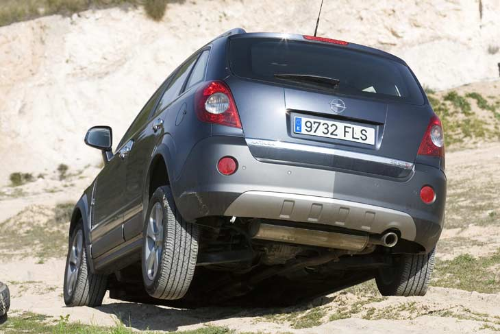 Opel Antara Cosmo: así se mueve