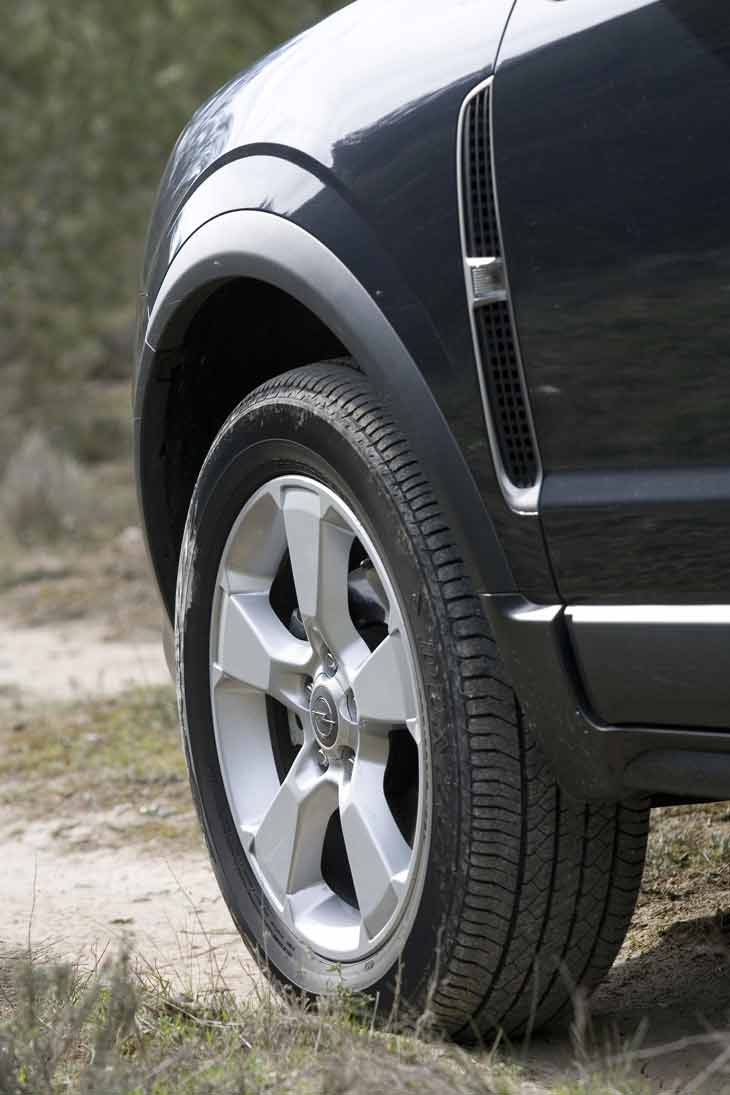Opel Antara Cosmo: detalles