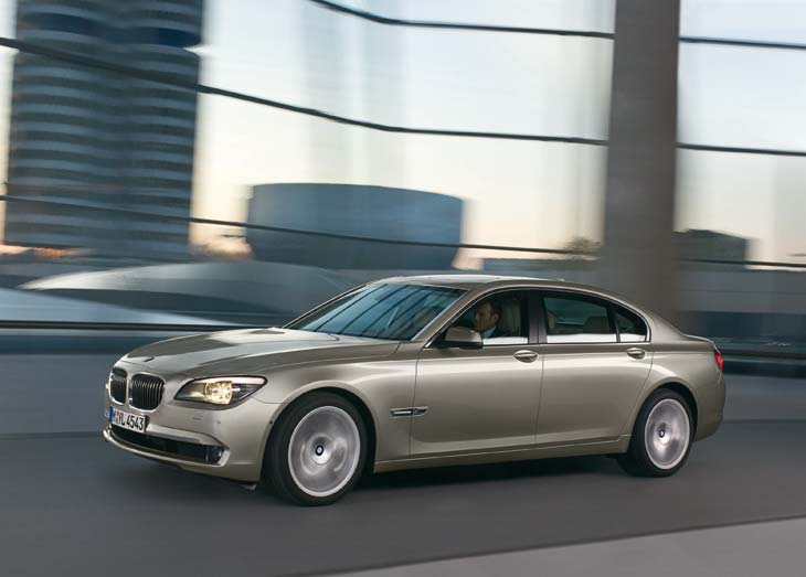 BMW Serie7 de día