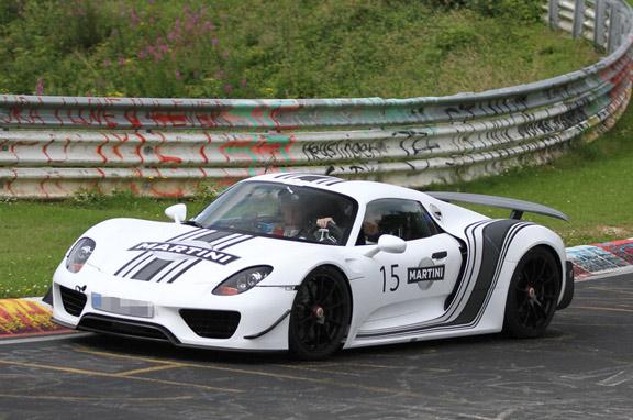 Porsche 918 Spyder, el gran deportivo híbrido