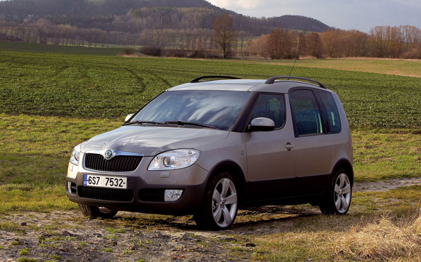 Nuevo Skoda Roomster Scout