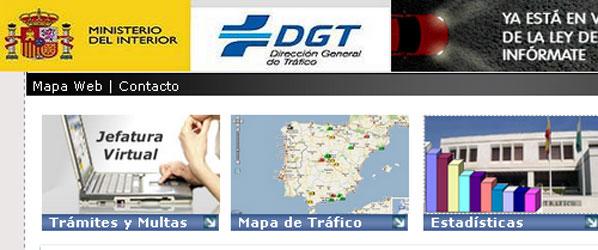 El papeleo de tráfico, todo por Internet