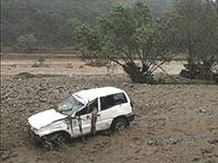 Víctimas de las lluvias