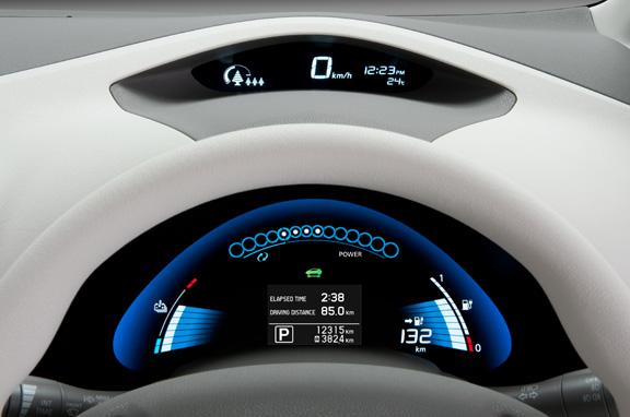Nissan Leaf eléctrico, al detalle