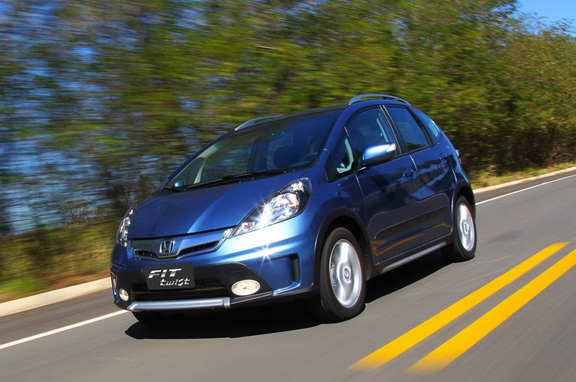 Honda Fit Twist, un Jazz crossover