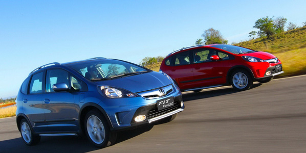 Honda Fit Twist, un Jazz hecho crossover
