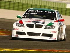 Porteiro estrenó su BMW en Cheste