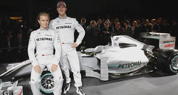 F1: Mercedes GP se presenta