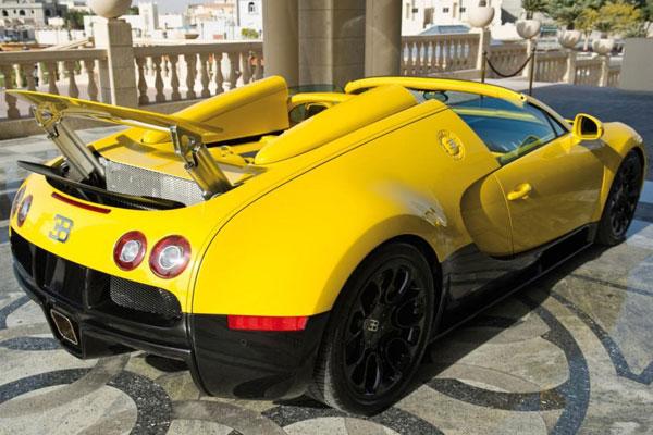 Bugatti Veyron Grand Sport, en el Salón de Qatar