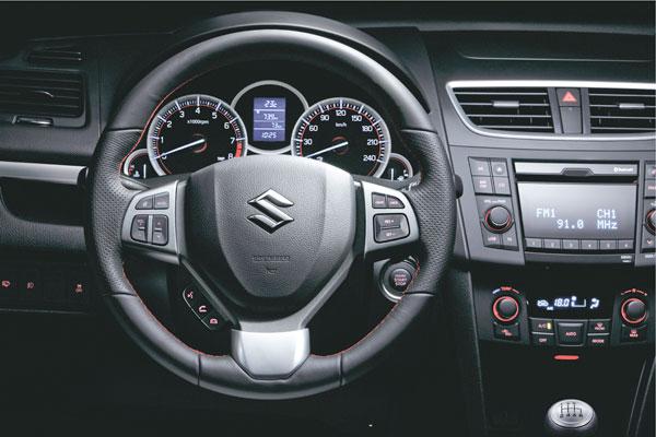 Suzuki Swift Sport la prueba