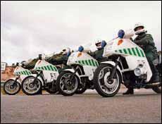 La Guardia Civil de Tráfico cursó 1,5 millones de denuncias en 2002