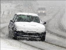 La nieve llega a las carreteras españolas