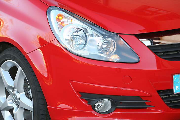 Opel Corsa GSi: detalles