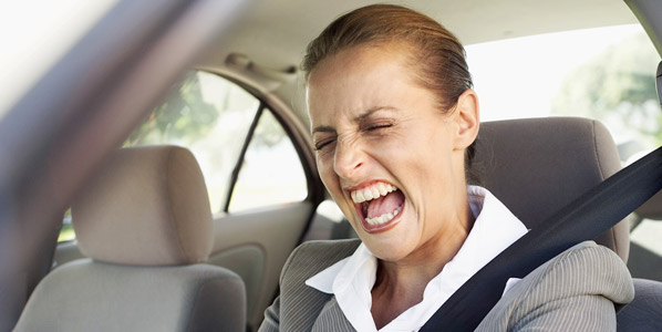Crisis, estrés y coche: cóctel peligroso