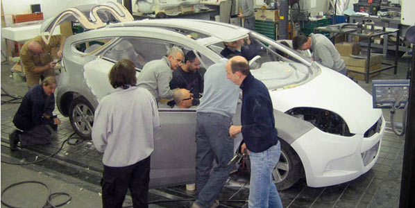 La producción de coches cae a mínimos históricos