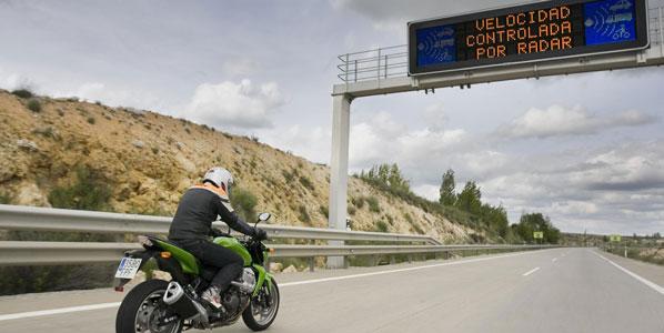 La velocidad límite baja a 110 km/h