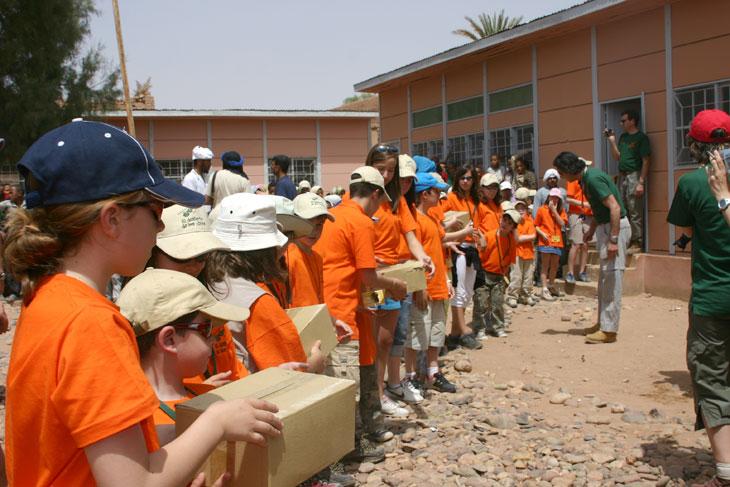 Desierto de los niños: Solidaridad