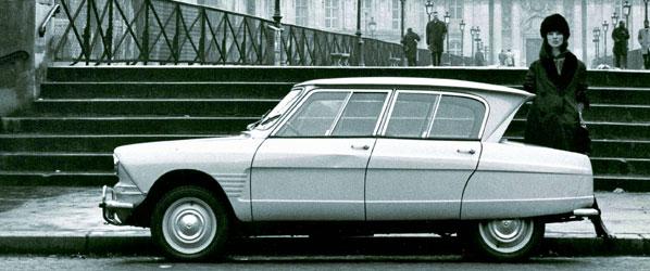 Citroën Ami-6, el coche de 1961