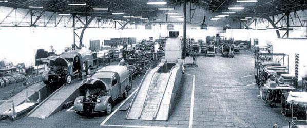 ¿Qué pasó en Autopista en 1961?