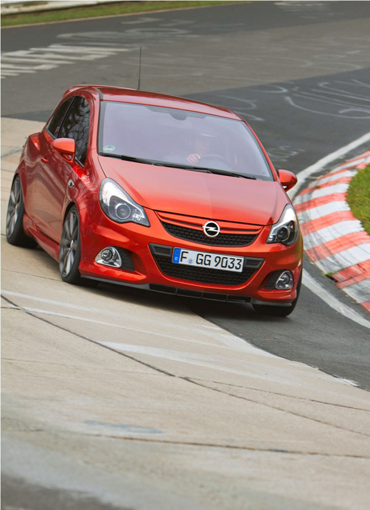 Opel Corsa OPC Nürburgring Edition.
